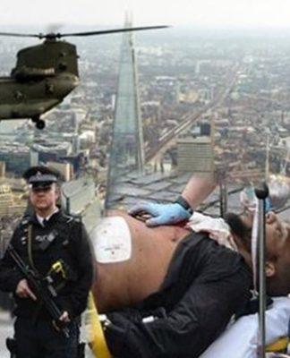 Στους δρόμους του Λονδίνου ο Στρατός