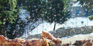 Πάσχα αρνί με χιόνια και βροχές