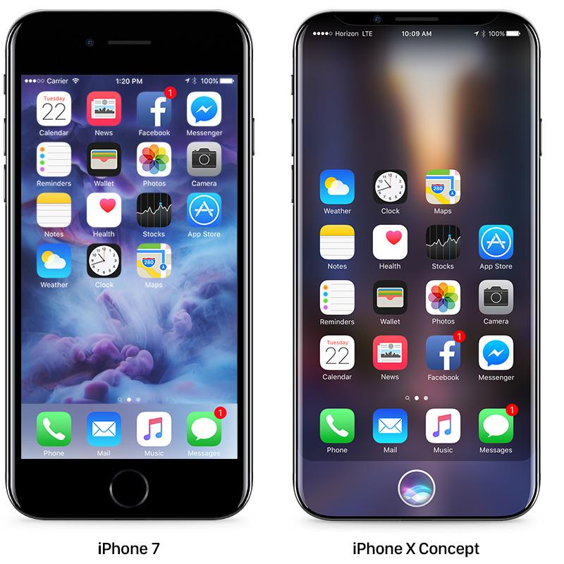 Το νέο ελκυστικό concept του iPhone 8