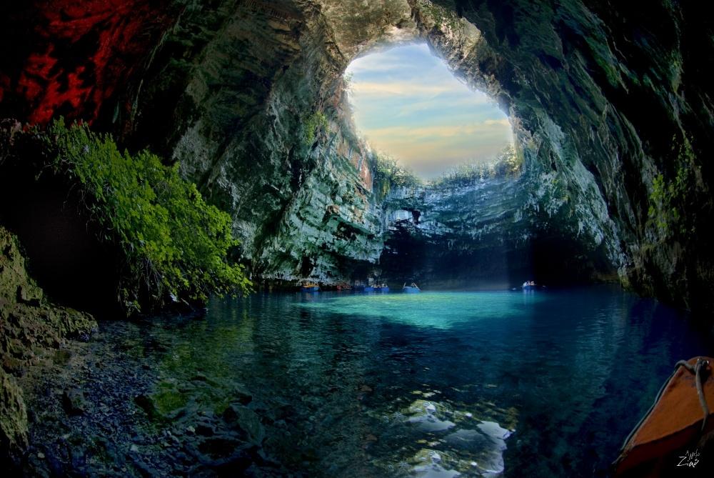 Λιμνοσπήλαιο Μελλισάνης, Κεφαλλονιά