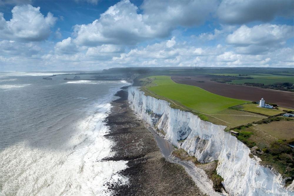 Λευκά βράχια του Ντόβερ, Αγγλία