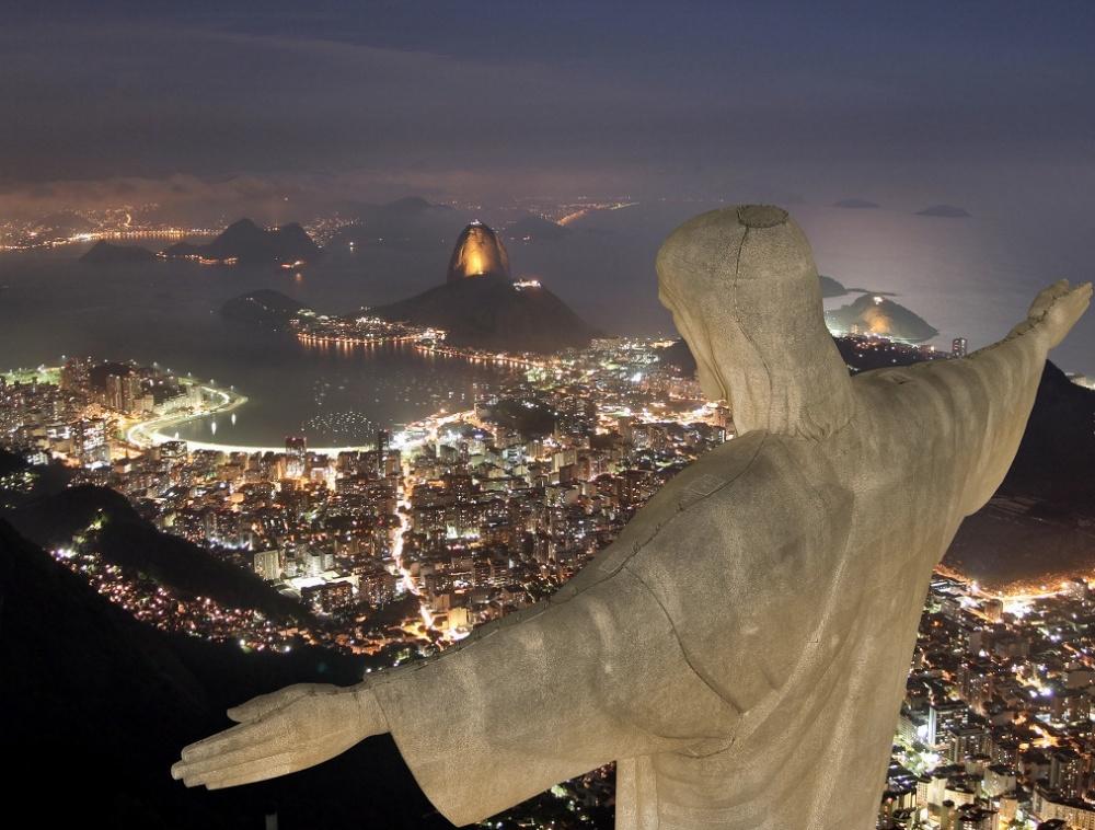 Βουνό Corcovado, Ρίο ντε Τζανέιρο, Βραζιλία