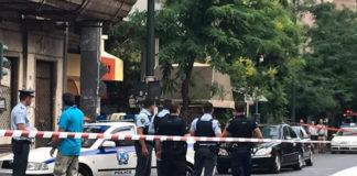 Συναγερμός μετά την έκρηξη στο αυτοκίνητο του πρώην πρωθυπουργού Λουκά Παπαδήμου, στην οδό Μάρνη,