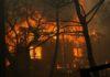 Καίγεται η Αθήνα φωτιές σε Ν. Βουτσα , Αγ. Ανδρέα Μάτι Κάλαμο