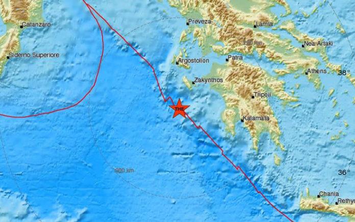 Σεισμός τώρα Έγινε πριν από λίγο στη Ζάκυνθο